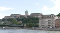 Buda Castle Hungary Stock Footage