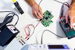 Development of electronic devices Kuvituskuvat