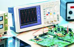Laboratory of research microelectronics Kuvituskuvat