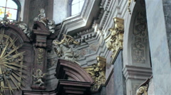 Stock Video Footage of church interior Antiquities