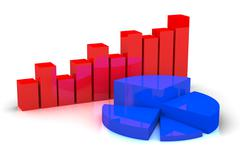 business rise - stock illustration