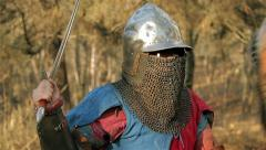Knight tournament Stock Footage