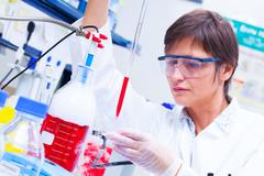 Laboratory research and development of cell therapy Kuvituskuvat