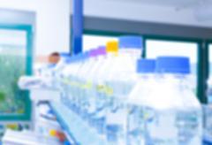 Blurred laboratory interior Stock Photos