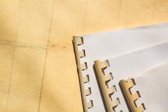 Archive files on floor Kuvituskuvat