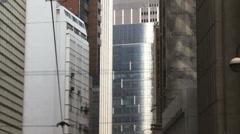 Tracking shot from tram Hong Kong Stock Footage