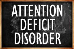 attention deficit disorder - stock photo
