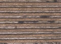 Structure of a wooden plank - stock photo