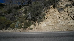 Driving Plates Mountains Canyon CAM3 L 06 Forest California Stock Footage