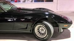 The legendary retro car Chevrolet Corvette Stingray C3 1978 release Stock Footage