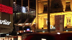 Stock Video Footage of Cartier jewellery at christmas