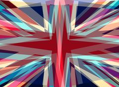 Explosive starburst background Stock Illustration