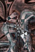 abstract graffiti - stock illustration