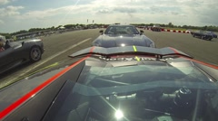 Lamborghini Aventador rear 1 Stock Footage