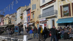 Harbor - Cassis France Stock Footage
