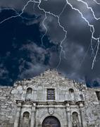Alamo in San Antonio,Texas - stock photo