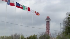 Six Flags Stock Footage
