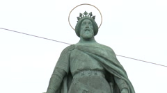 Budapest Old King - stock footage
