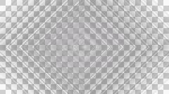 Rhombus shading stripe with alpha  Stock Footage