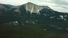 Almagre mountain Stock Footage