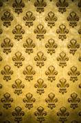 french royal flower background pattern - stock photo