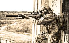 United States Army ranger Stock Photos