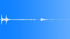 lift close door descend open door - recorded from departing floor 2 - bulkier - sound effect