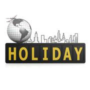 Stock Illustration of holiday