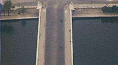 Paris 1949: Trocadero and Pont d'Iéna - stock footage