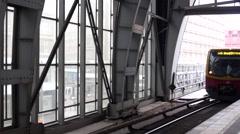 Ubahn Berlin Alexanderplatz - stock footage