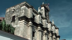 Dominican Republic Santo Domingo Caribbean Sea 027 cathedral in Colonial City Stock Footage