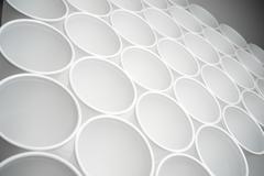 Disposable cups Stock Photos