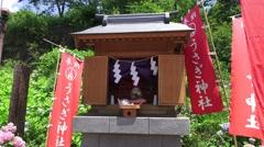 Mt Kachi Kachi Shinto Shrine 4K Stock Footage