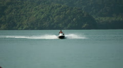 Jet Ski in Action 5 - stock footage