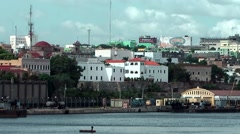 Stock Video Footage of Dominican Republic Santo Domingo Caribbean Sea 050 Colonial City cityscape
