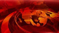RedWorld News - Background v.1 Loop. - stock footage