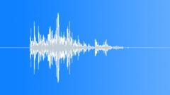 Wood Object Drop 6 Single - sound effect