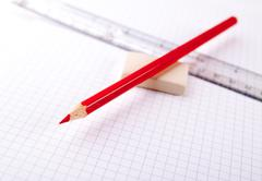 Notebook paper background Stock Photos