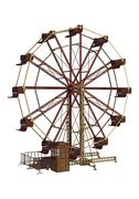 ferris wheel - stock illustration