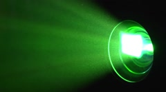 Light Projector with dust particles Stock Footage