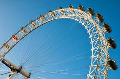 London, uk - january 2, 2015: view of the london eye. london eye (135 m tall, Kuvituskuvat