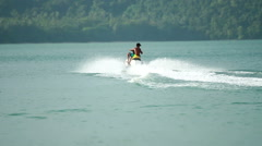Jet-Ski in Action 2 - stock footage