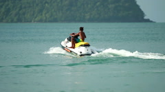 Jet Ski in Action - stock footage