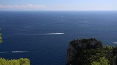 The Isle of Capri, Campania Stock Footage