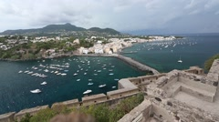 The Island of Ischia Stock Footage