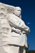 the martin luther king jr. memorial - stock photo
