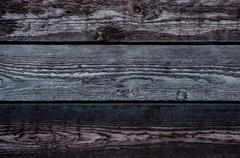 three boards horizontal - stock photo