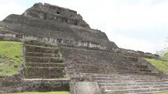 Xunantunich Mayan Temple Stock Footage