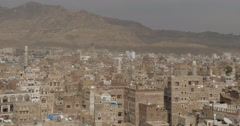 Old City of Sana'a, Yemen (4K) Stock Footage