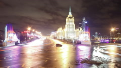 Moscow Seven Sisters Stock Footage